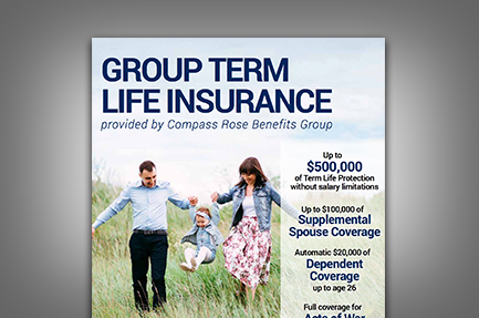 Group Term Life Insurance | Compass Rose Benefits Group